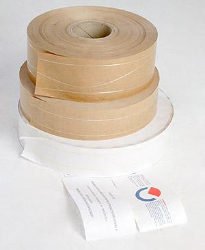 Carta gommata normale con fili